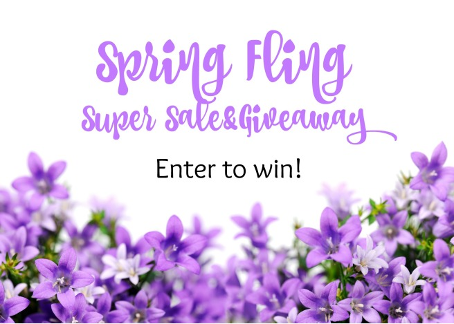 Spring Fling Super Sale & Giveaway